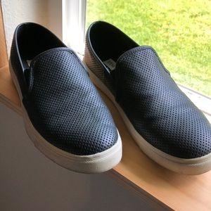 Black loafers SM